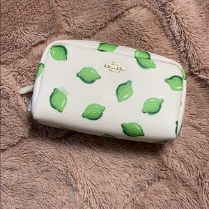 Coach cosmetic case cosmetic bag NEW